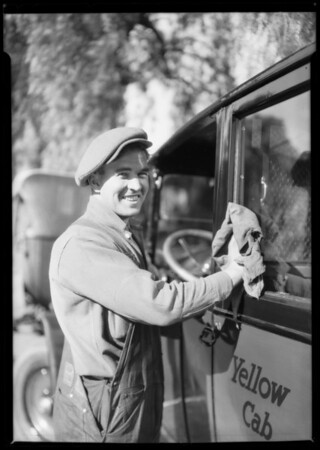 Driver uniforms, Yellow Cab Co., Southern California, 1925