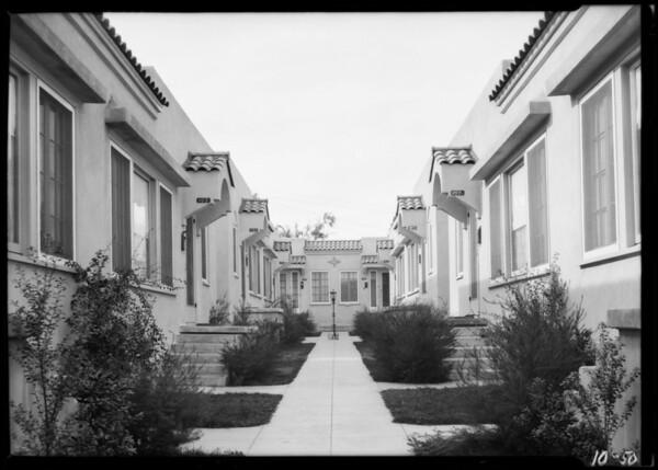 1100 block of South Bronson Avenue, Los Angeles, CA, 1924