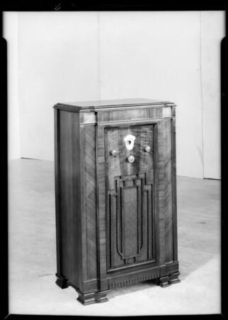 Furniture for circular, Southern California, 1934