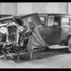 Chevrolet touring, Rockne sedan, Keenan vs Bradshaw, Southern California, 1934