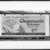Chapman billboard, Southern California, 1932
