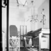 Physician's office, Southern California, 1932