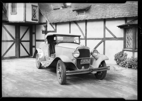 Plymouth owned by Robert Rausch, Southern California, 1932