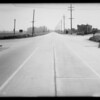 Intersection of South Central Avenue and West Rosecrans Avenue, Compton, CA, 1934