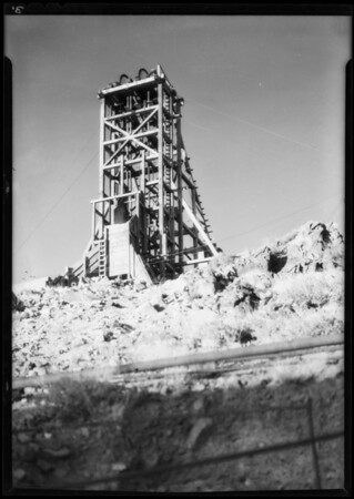 Tom Reed Mine, Oatman, AZ, 1932