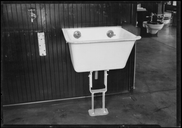 Haverty Sanitary fixtures, Southern California, 1925