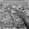 Aerial photographs of Downtown Los Angeles, CA, 1964