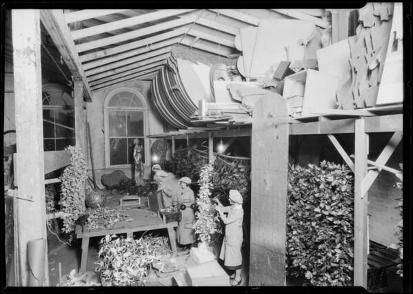 Department store display, Broadway Department Store, Los Angeles, CA, 1925