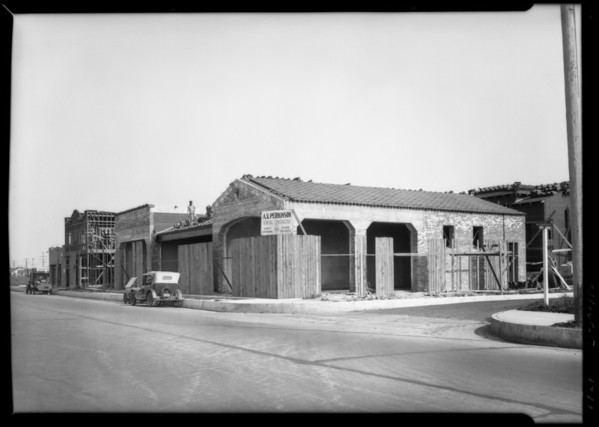 Leimert Park publicity shots, Los Angeles, CA, 1929