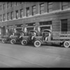 Crane Co. trucks, Southern California, 1926
