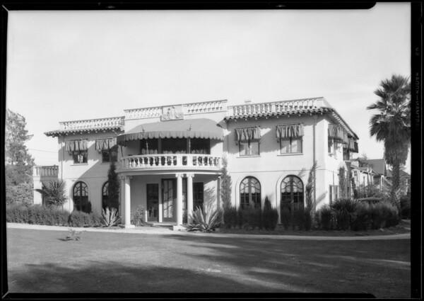 812 North Crescent Drive, Beverly Hills, CA, 1927