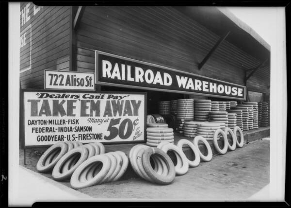Retouched photos, 722 Aliso Street, Monterey Park, CA, 1931
