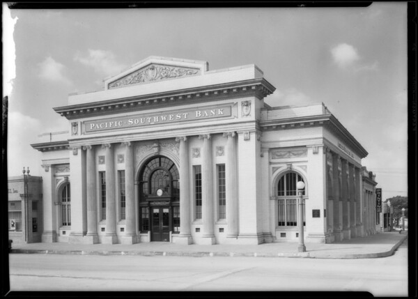 Los Angeles First National Bank, Inglewood Branch, Inglewood, CA, 1927