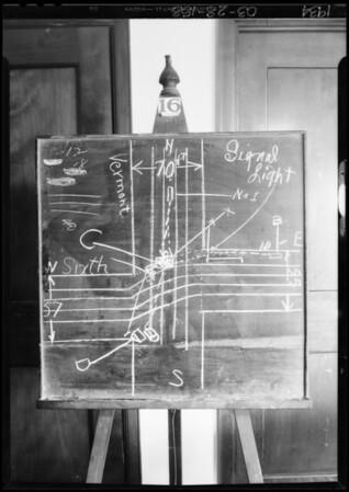 Blackboard - Cohen vs. Jordon, Southern California, 1934