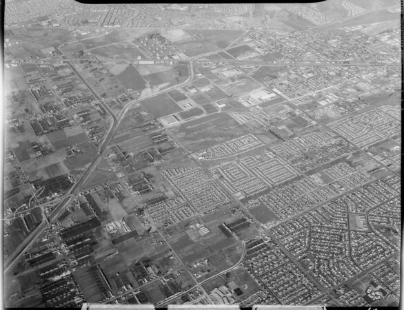 Aerial photographs of Southern California, 1963