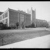 Los Angeles High School, school exteriors, 4650 West Olympic Boulevard, Los Angeles, CA, 1924