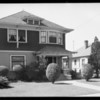 His house at 1522 28th Street, Mr. Henry Carter, Southern California, 1934