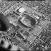 Aerial photographs of Los Angeles Memorial Coliseum, Los Angeles, 1963