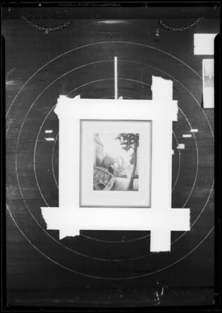Sketches & frames, Southern California, 1933