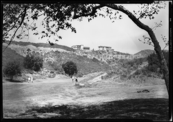 Homes in Annadale, Pasadena, CA, 1928