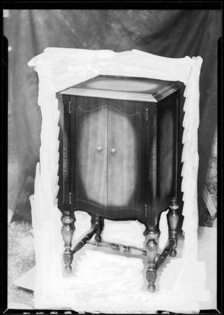 Radio cabinet, Southern California, 1926