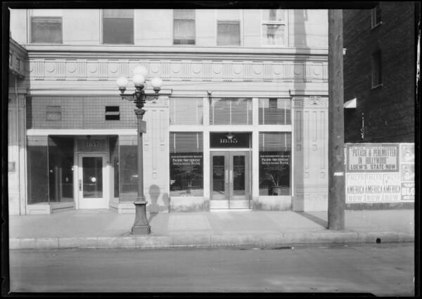 Pacific-Southwest Trust & Savings Bank, South Main Street & West Washington Boulevard branch, Carson, CA, 1924