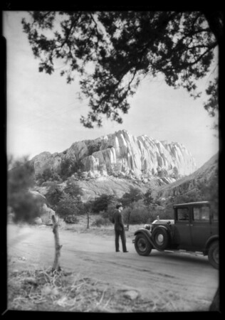 Scenics on trip, Southern California, 1932