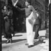 Newsboy, Southern California, 1934