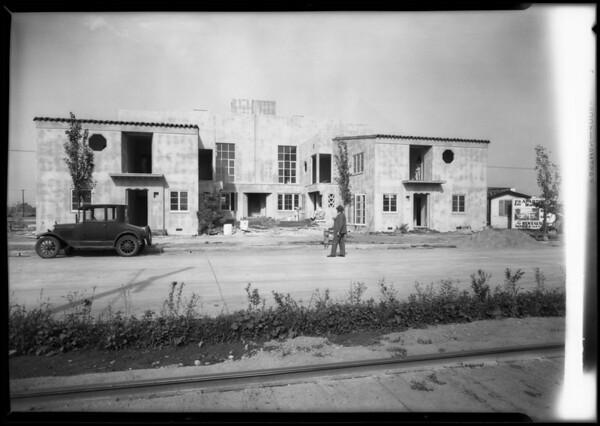 Leimert Park publicity, Los Angeles, CA, 1928
