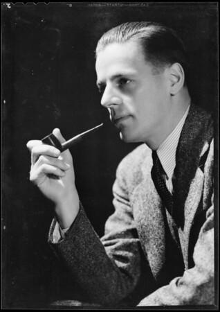 Portrait of Steele Morris, Southern California, 1932