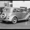 Auburn sedan, Sol Bloome, owner, Southern California, 1934