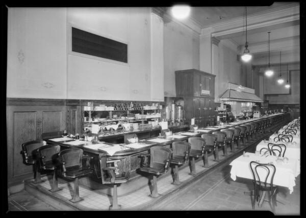 Herbert's Grill, Southern California, 1926