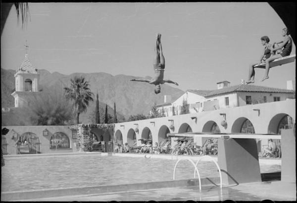 Diving at El Mirador Hotel, 1150 North Indian Canyon Drive, Palm Springs, CA, [s.d.]