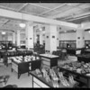 Department store shoe department, Los Angeles, CA, 1926