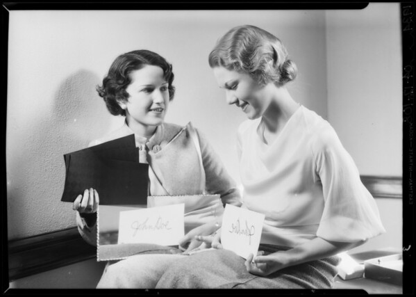 Black blotter publicity, Southern California, 1934