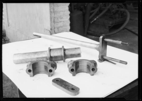 Bearing demonstration at Regan Company, San Pedro, CA, 1925