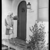 Publicity shots, Flora Bramley, WAMPAS star, Southern California, 1928
