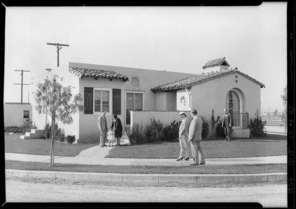 Shots for Herald layout, Montebello, CA, 1927
