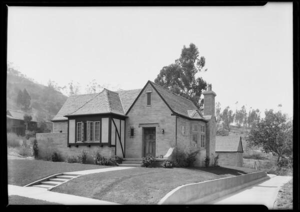 Highland Park--villa tract, Los Angeles, CA, 1925