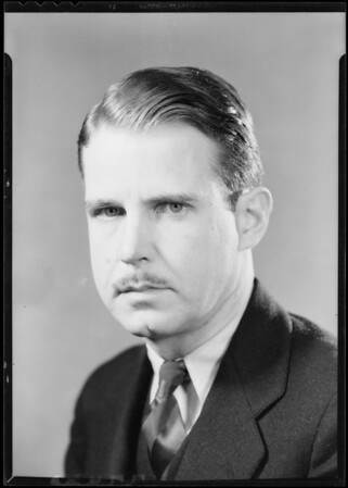 Portrait of Mr. Tarr, Southern California, 1932