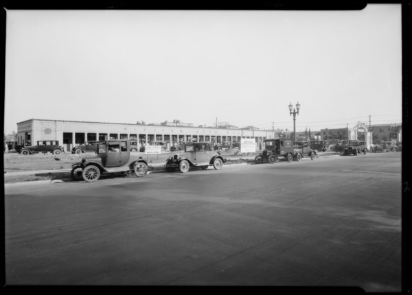Western Auto Wash, Southern California, 1927