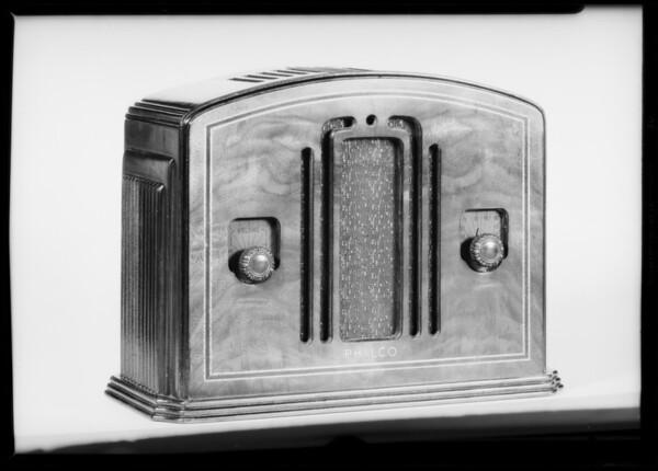 Philco radio, Southern California, 1933