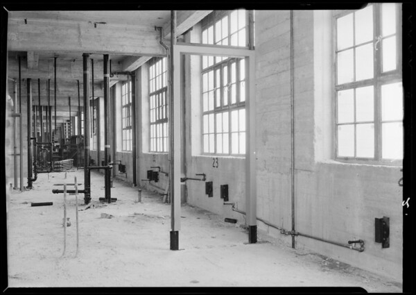 Steam installation, County Hospital, Los Angeles, CA, 1932