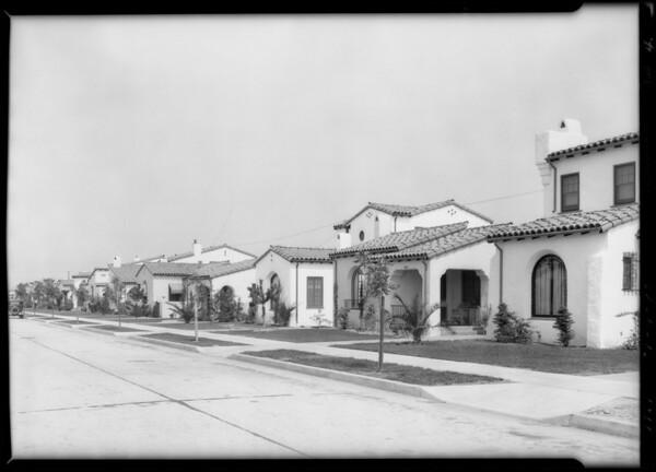 Leimert Park homes, Los Angeles, CA, 1929