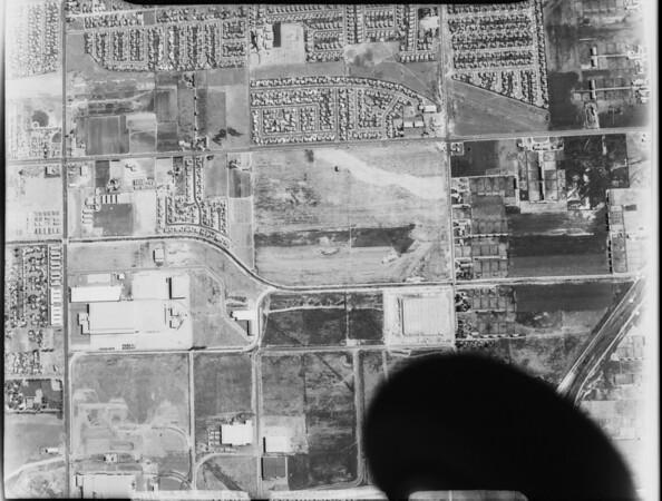 Aerial photographs of Anaheim, CA, [s.d.]