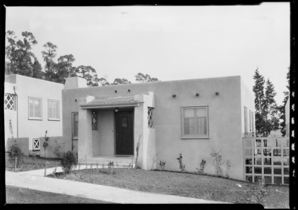 Homes at City Terrace, CA, 1927