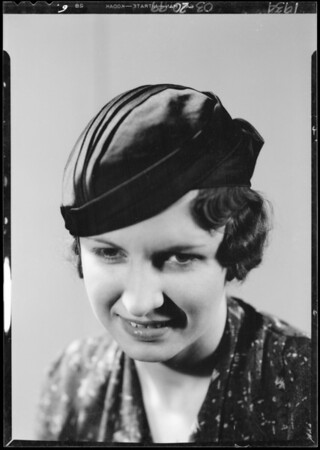 Portraits, The May Co., Southern California, 1934