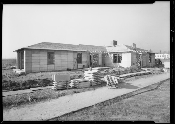 House at Glendale, Southern California, 1933