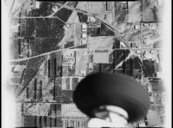 Aerial photographs of Los Angeles Harbor, Los Angeles, CA, 1928