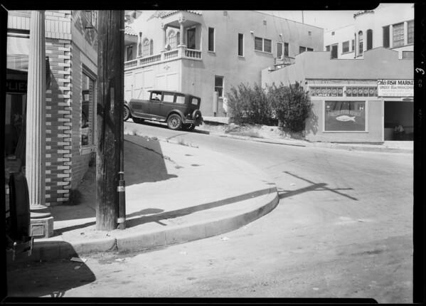 Ramona Boulevard and North Hicks Avenue, Southern California, 1931